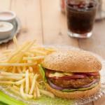 המבורגר צמחוני. צילום: אסף לוי
