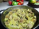 מתכון למרק עם כדורי בשר וחומוס, 106il אוכל מאת: רות ברונשטיין