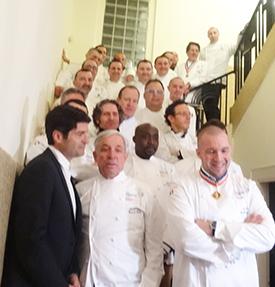 השפים עם שגריר צרפת צילום:106il לייף סטייל
