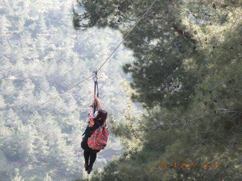 רות ברונשטיין בחווית האומגה בחוות ארץ האיילים צילום: יהודה עבור 106il