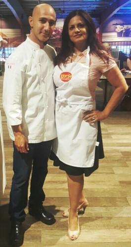 בצילום: רות ברונשטיין והשף צ'רלי פדידה 106il מתכון בלייף סטייל