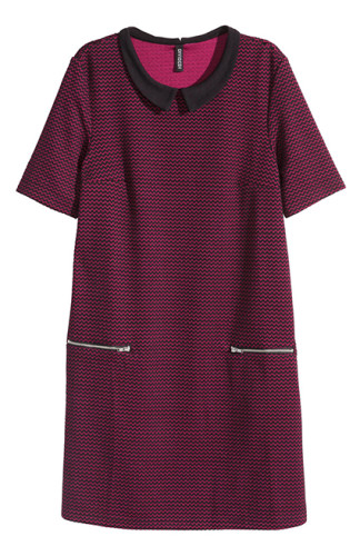 HM שמלה סתווית בצבעים שימשיכו לככב גם בעונה הזו
