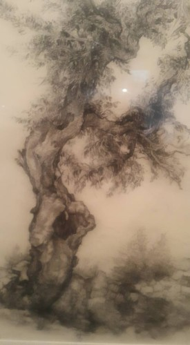 צילום: ציור של אנה טיכו אמנות 106ilישראל לייף
