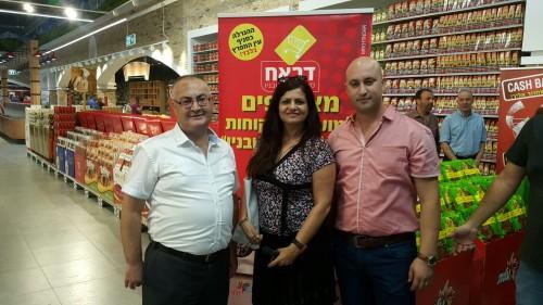 """מנכ""""ל הרשת סלאח דבאח צילום: 106il ישראל לייף סטייל"""