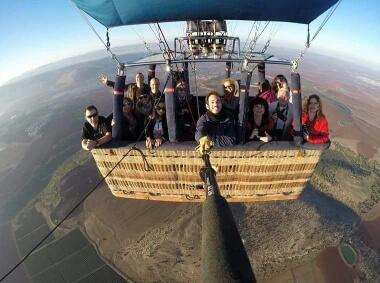 סקיי טרק-חברת התעופה לכדורים פורחים, פאפא הכדור הכי גדול במזרח התיכון של חב' skytrek צילום:106il ישראל לייף סטייל