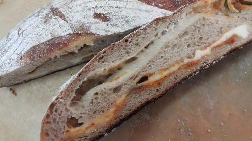 מתכון ללחם מקמח כוסמין וגבינת פקורינו