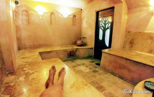 חמאם תורכי מלון בוטיק The Way Inn צפת